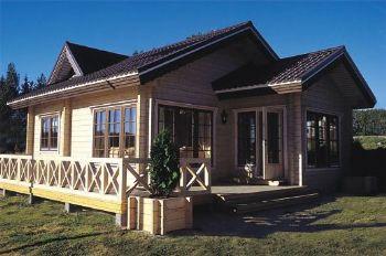 Casas prefabricadas madera casas de madera nordica - Casas de madera nordicas ...